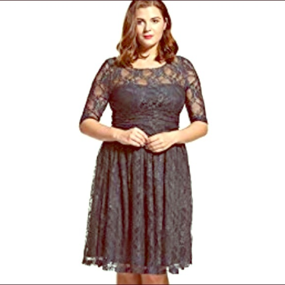 Holiday/Homecming Lace Dress -PLUS- as 1x